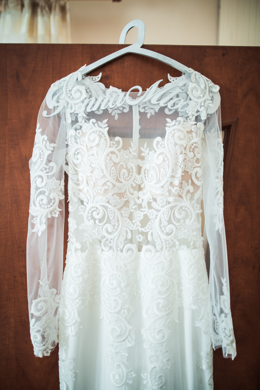 zdjęcie sukni ślubnej madonna