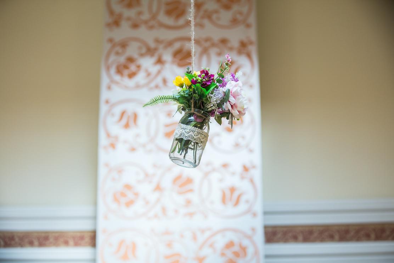 dekoracja ślubna sali - Zajazd Pod Skałą w Jaśle