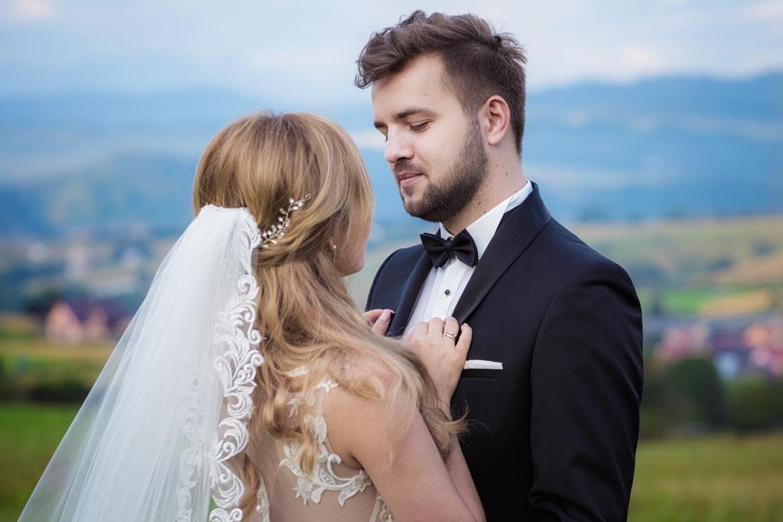 kamerzysta na wesele Rzeszów - ujęcie z teleobiektywu