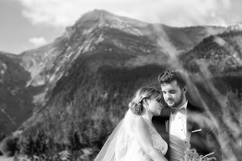 sesja ślubna na Słowacji i fotografia ślubna pary młodej