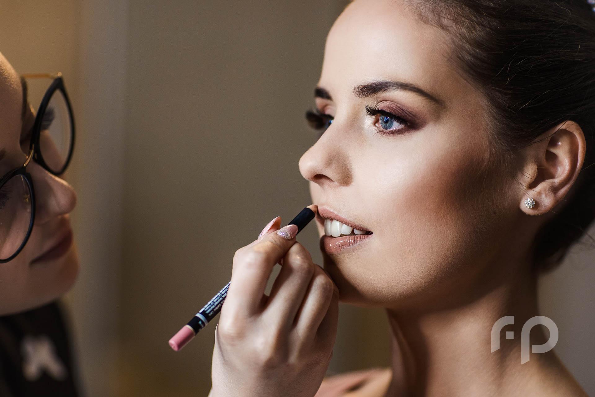 profesjonalny makijaż ślubny w domu panny młodej nowy sącz