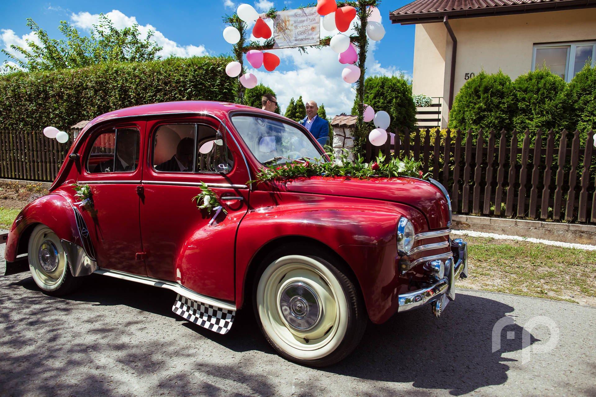 zabytkowy samochód do ślubu rzeszów