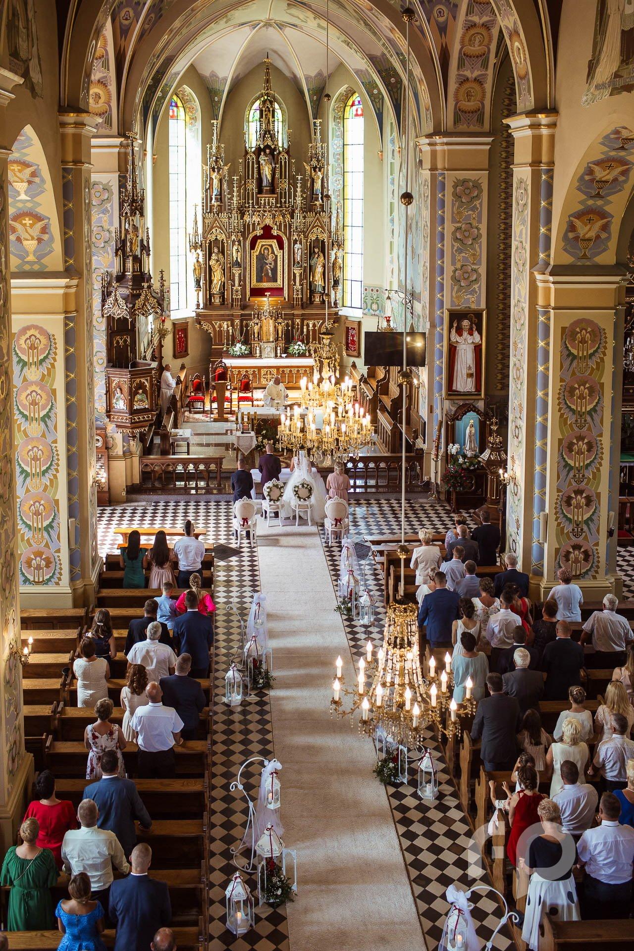 fotografia na ślubie kościelnym