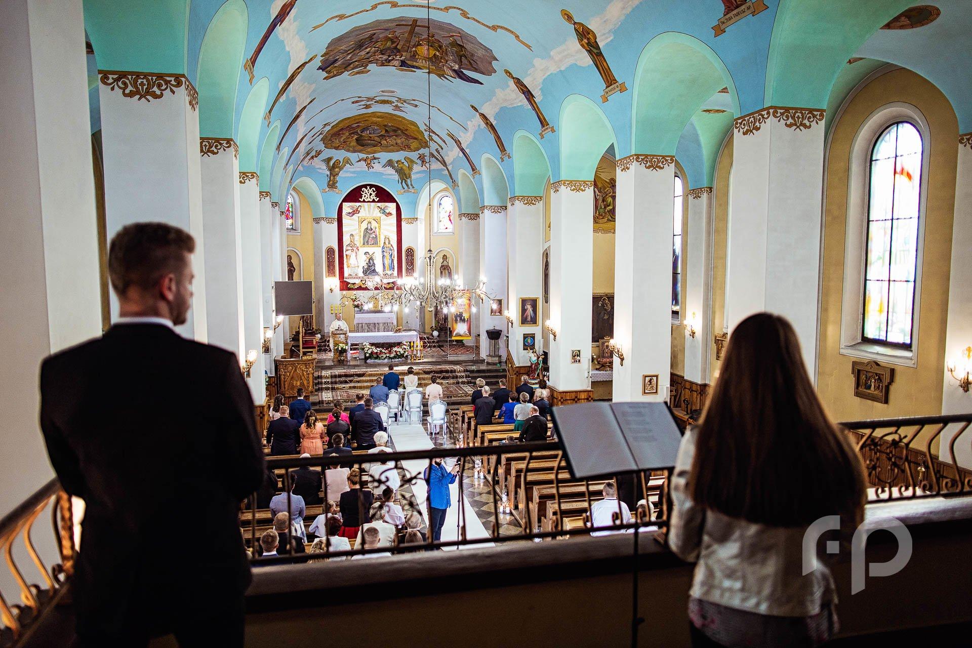 ujęcie kościoła z chóru
