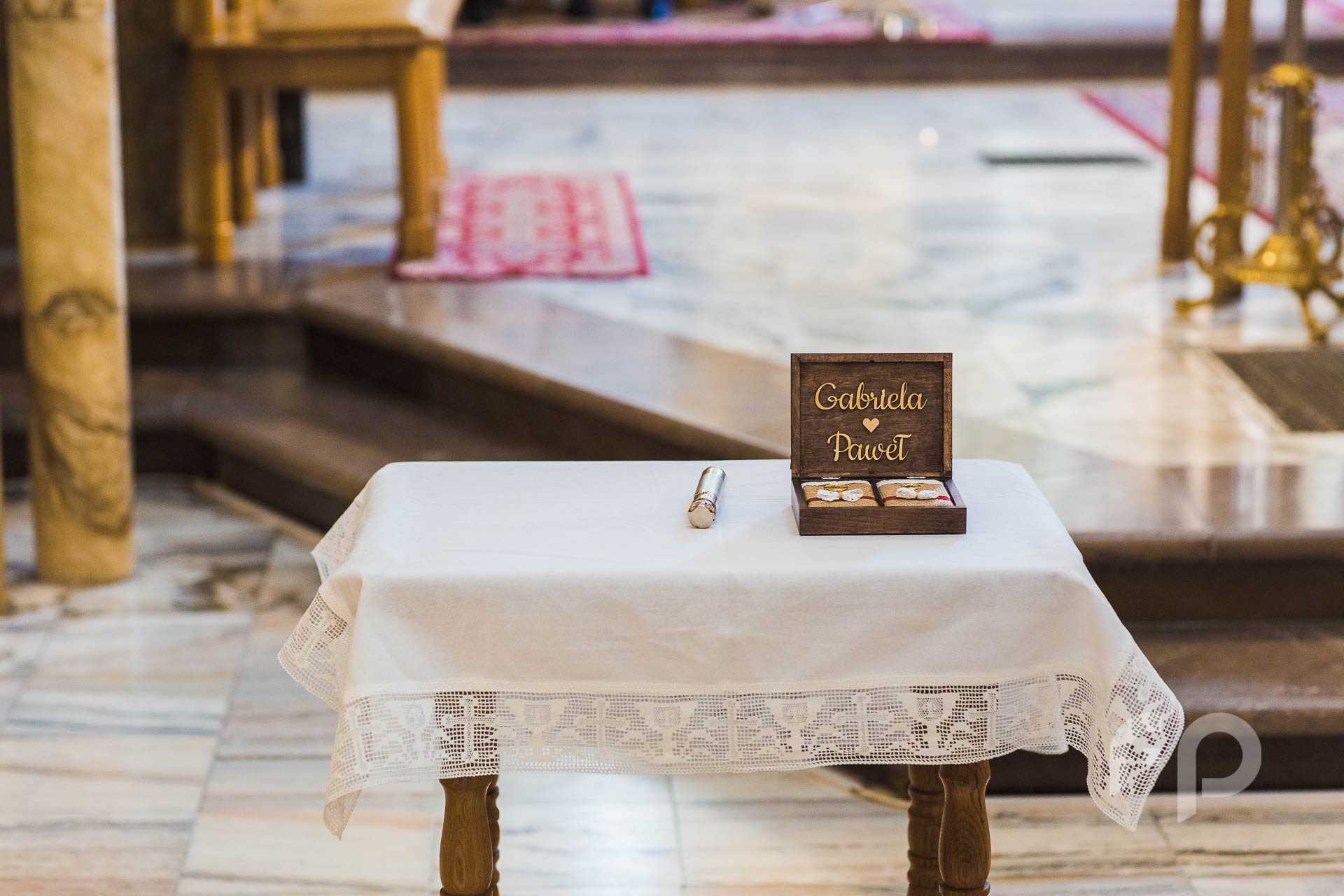 święcenie obrączek ślubnych