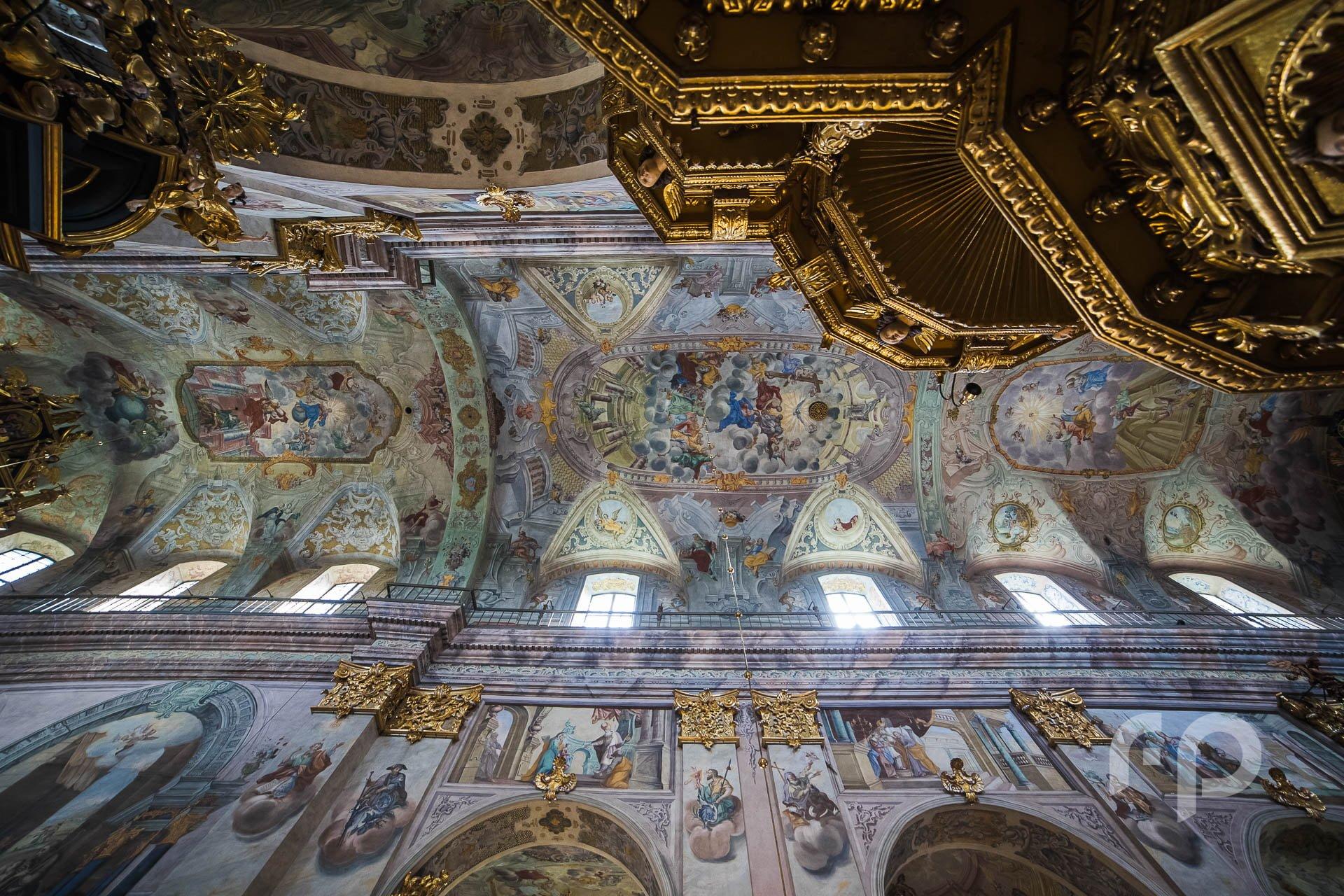 malowidła klasztoru