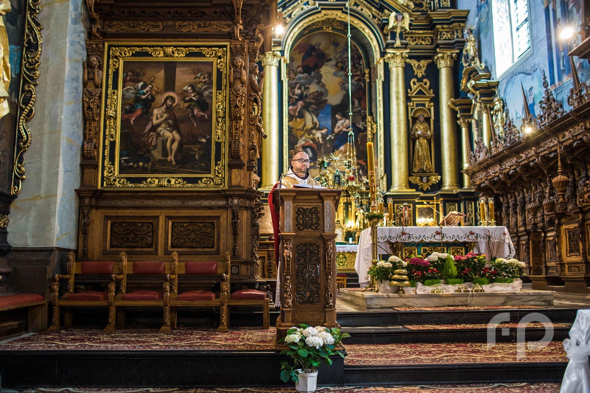 kazanie ślubne - Klasztor Leżajsk