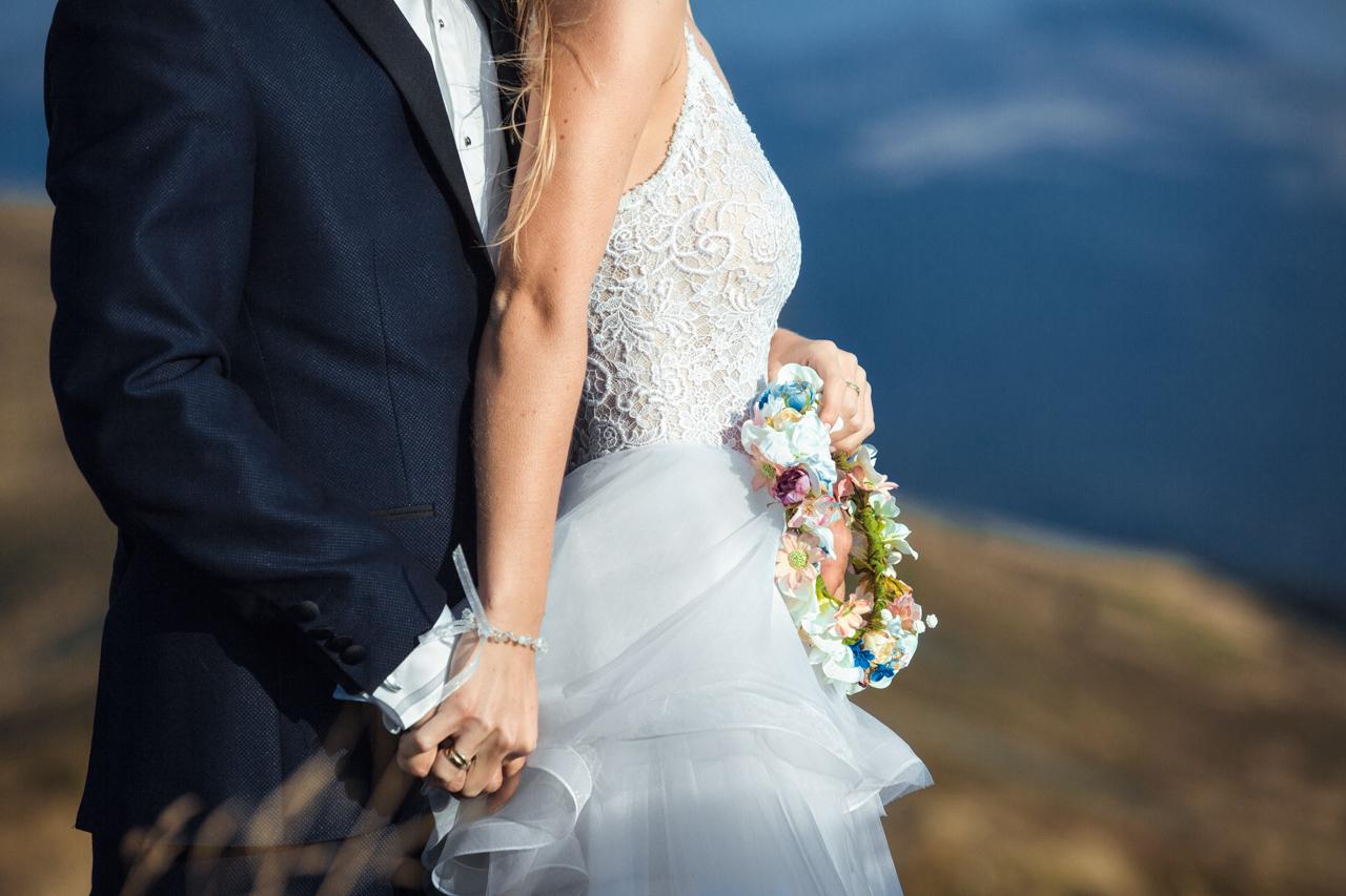 wianek ślubny Katarzyny
