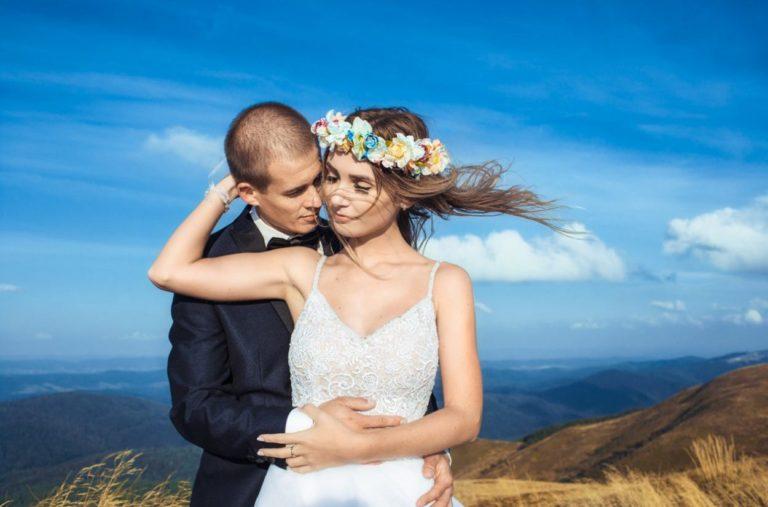 plener ślubny na Połoninie Caryńskiej w Bieszczadach