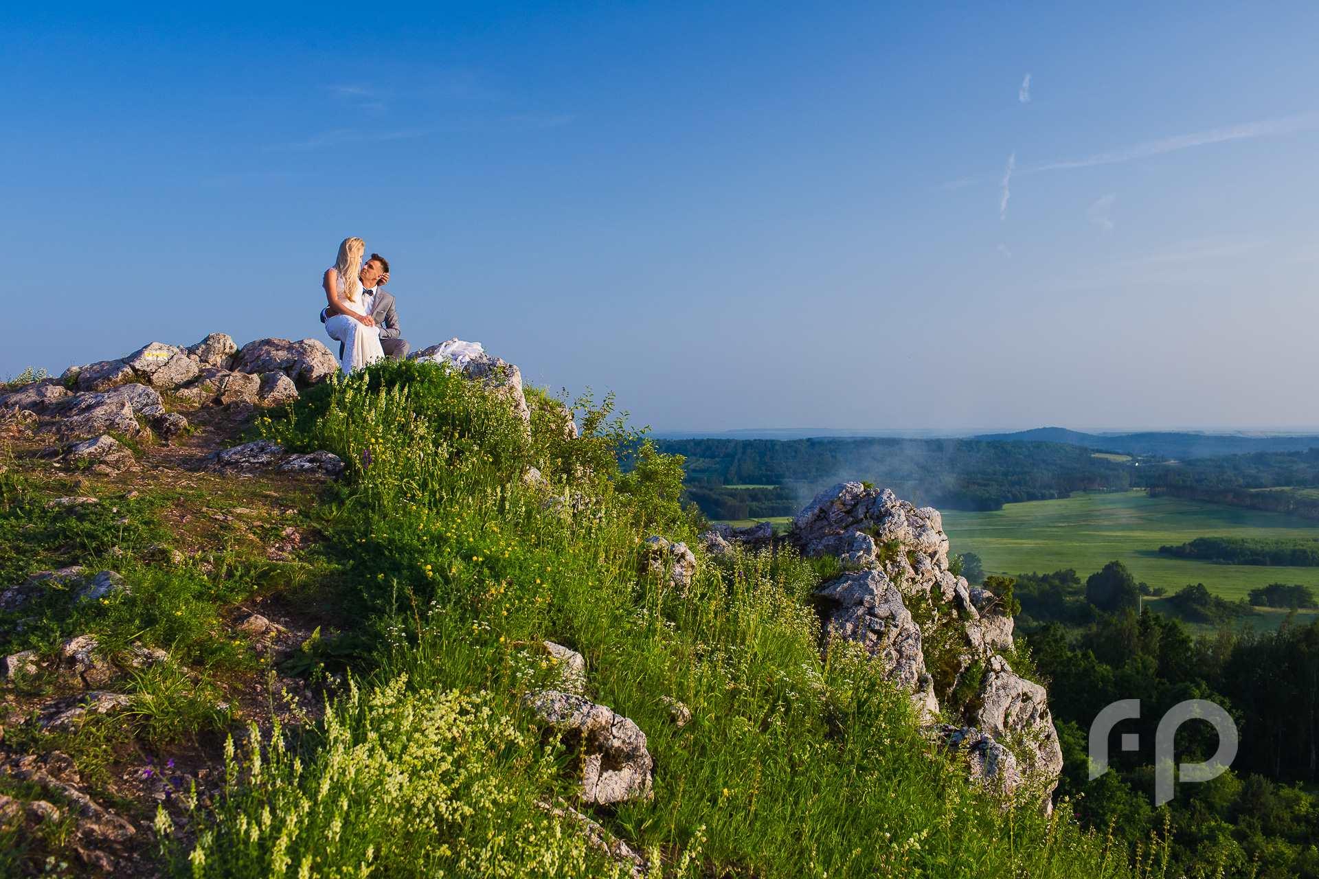 Sesja ślubna w Górach Świętokrzyskich