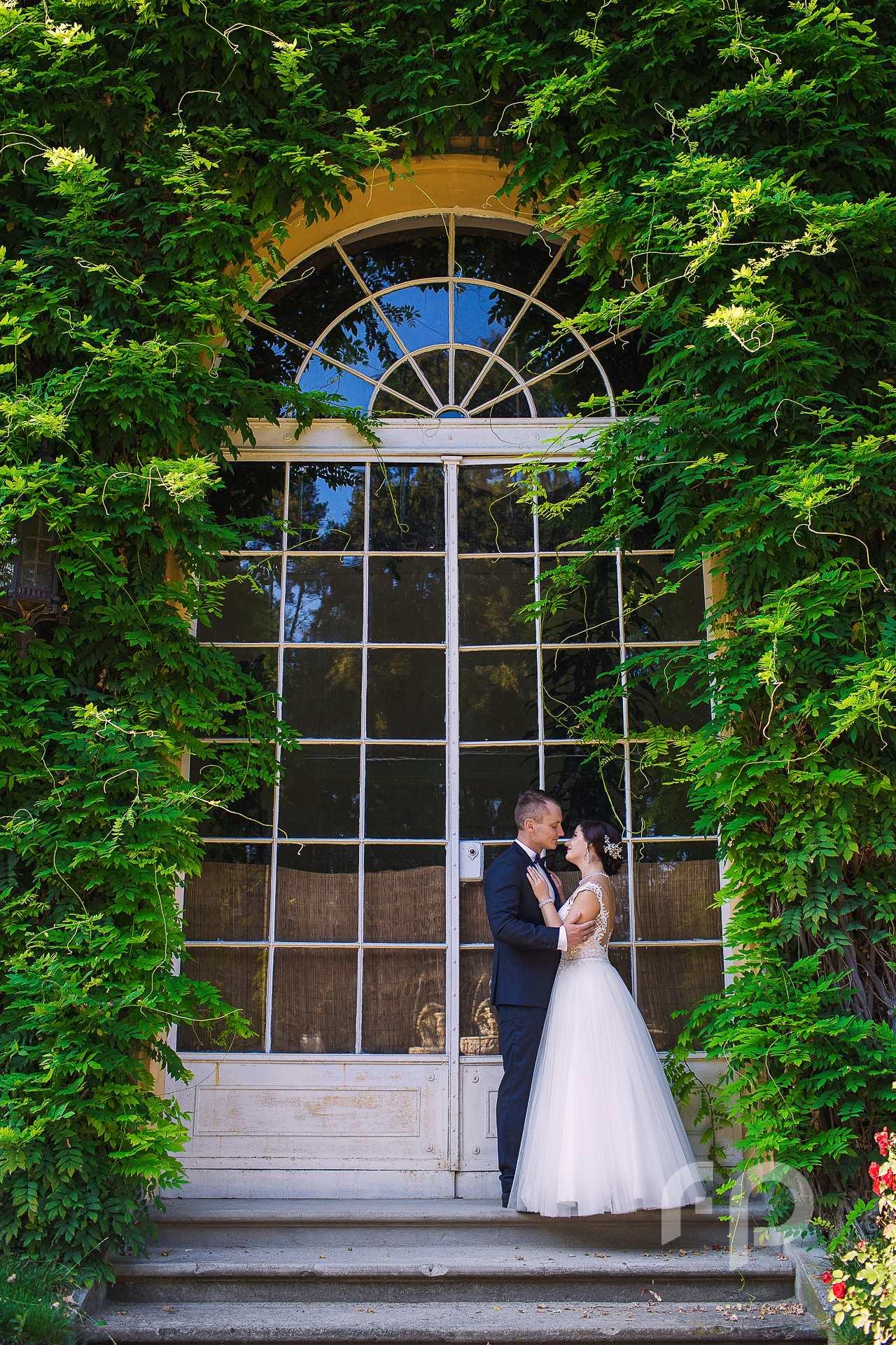 Zamek Łańcut - sesja ślubna