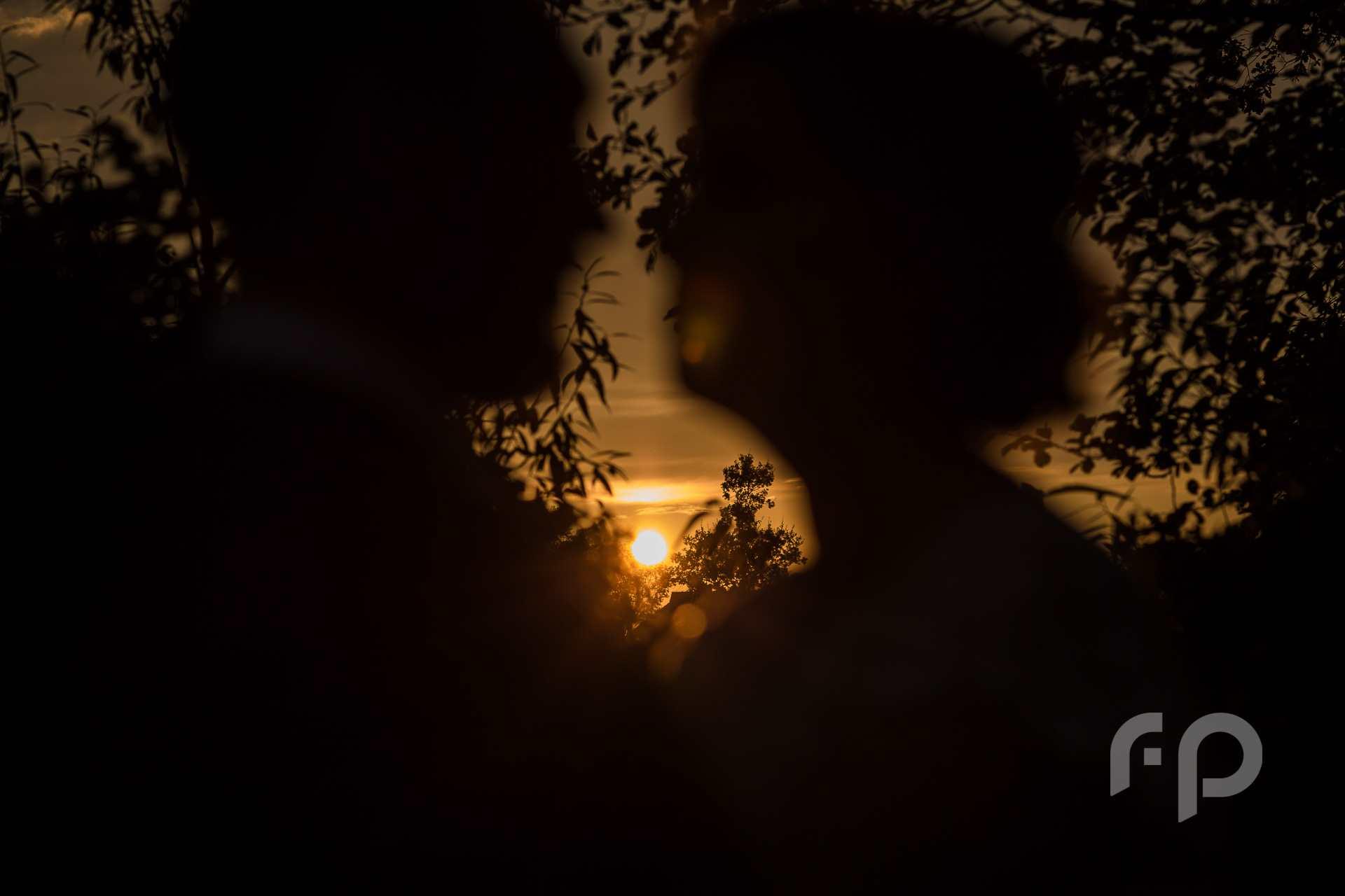 plener ślubny o zachodzie słońca w Kolbuszowej