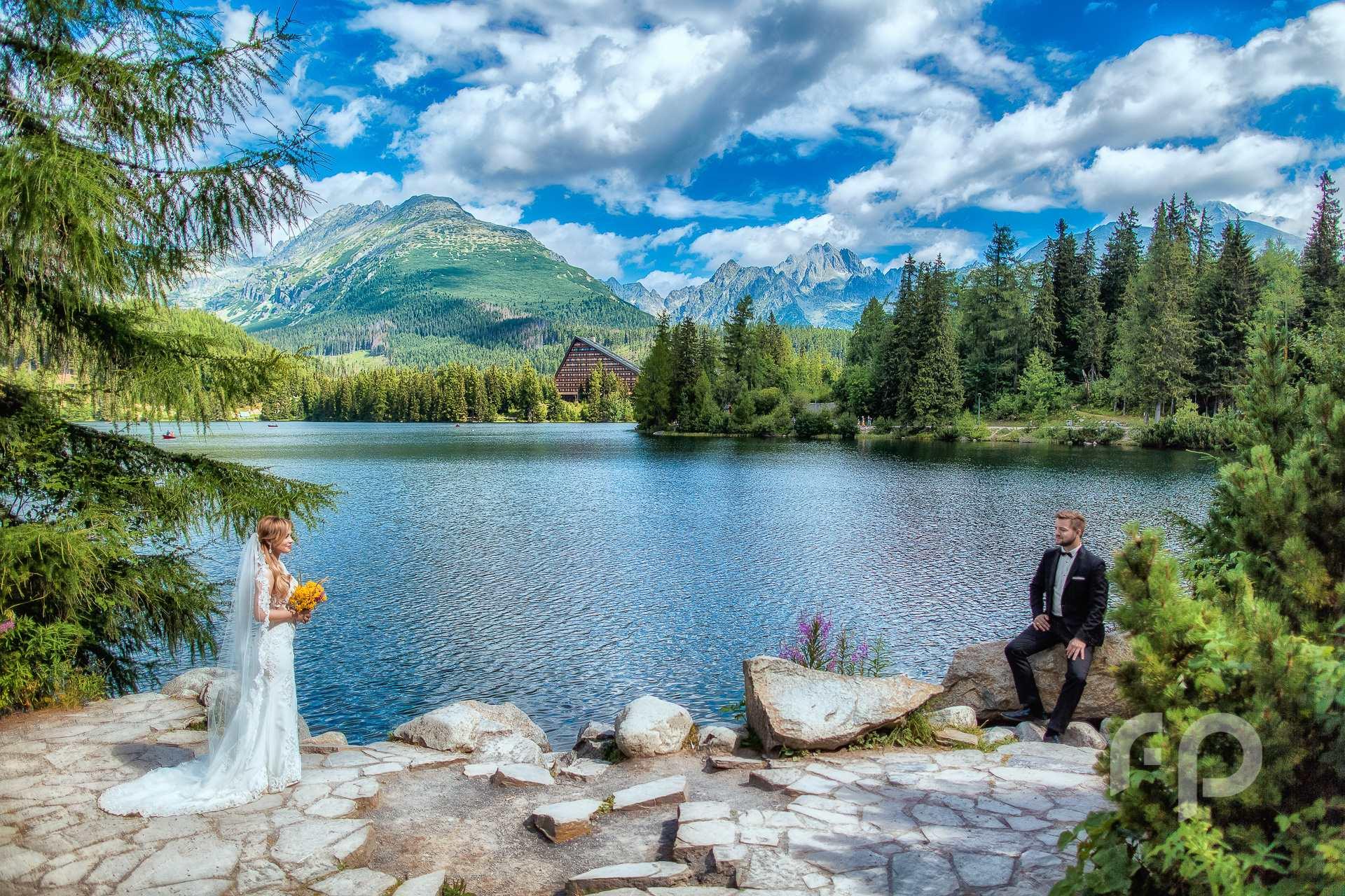 plener ślubny w Tatrach Wysokich
