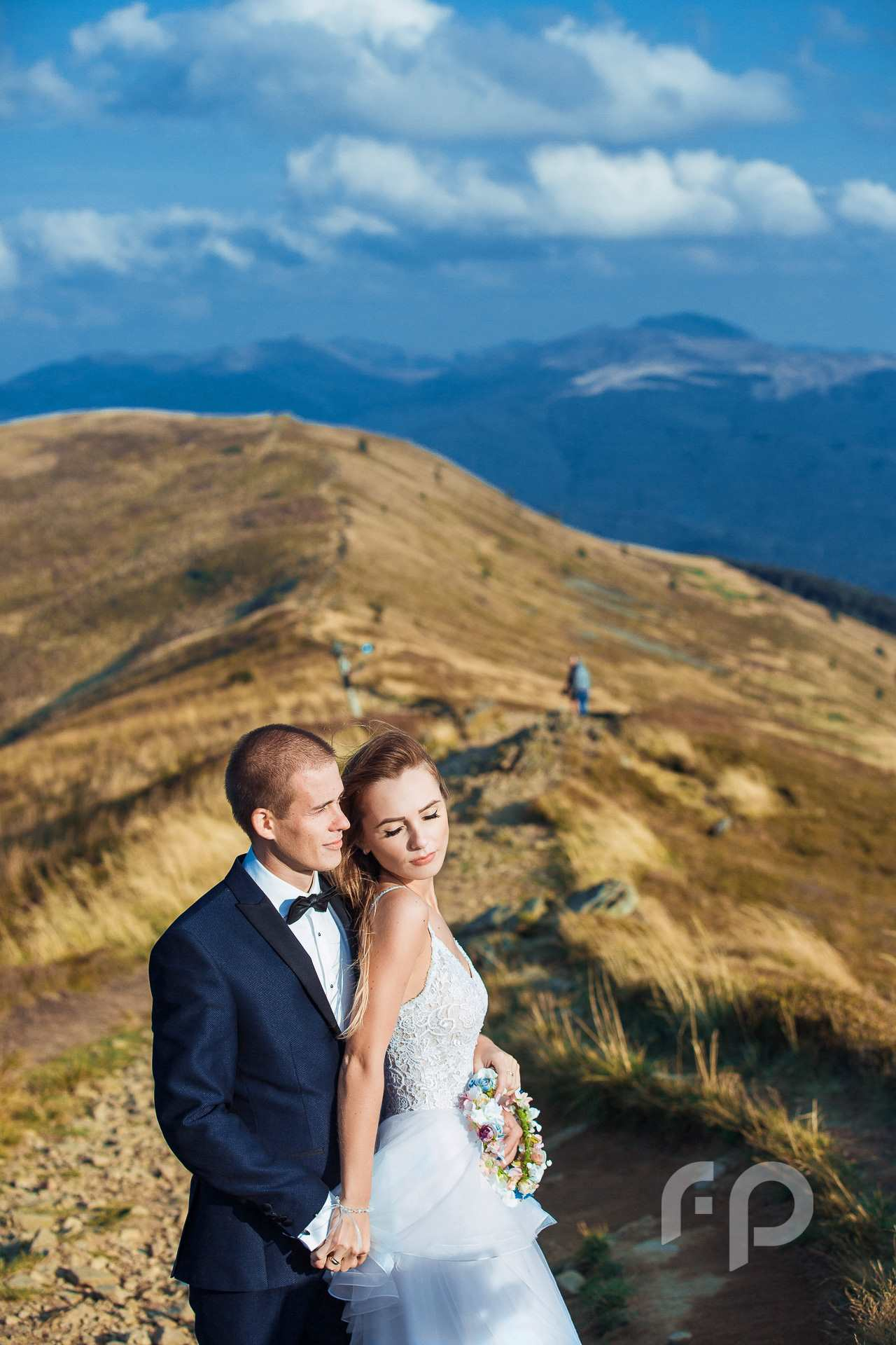 Bieszczadzki plener ślubny