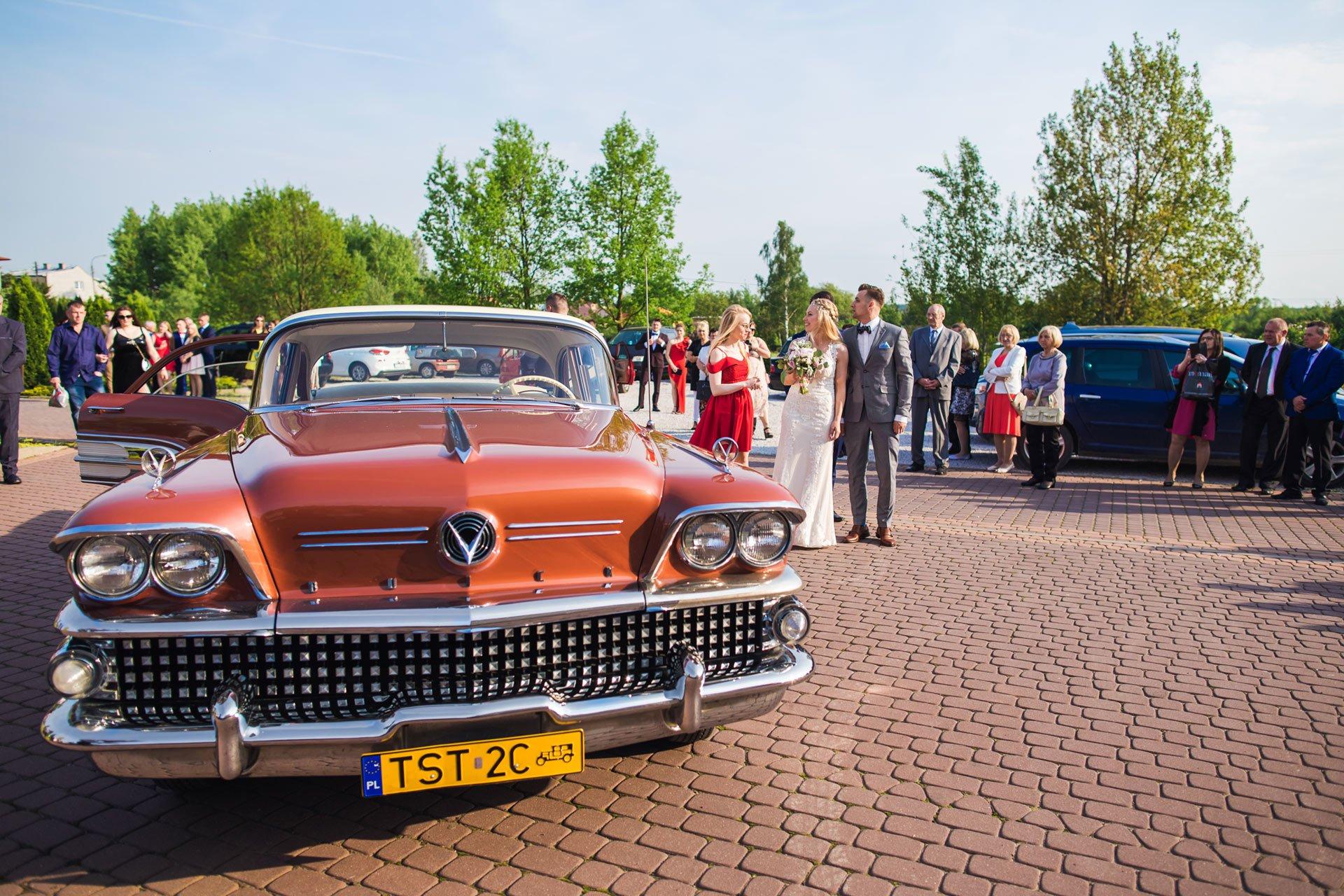 ImprezArt Starachowice przyjazd na salę ślubną