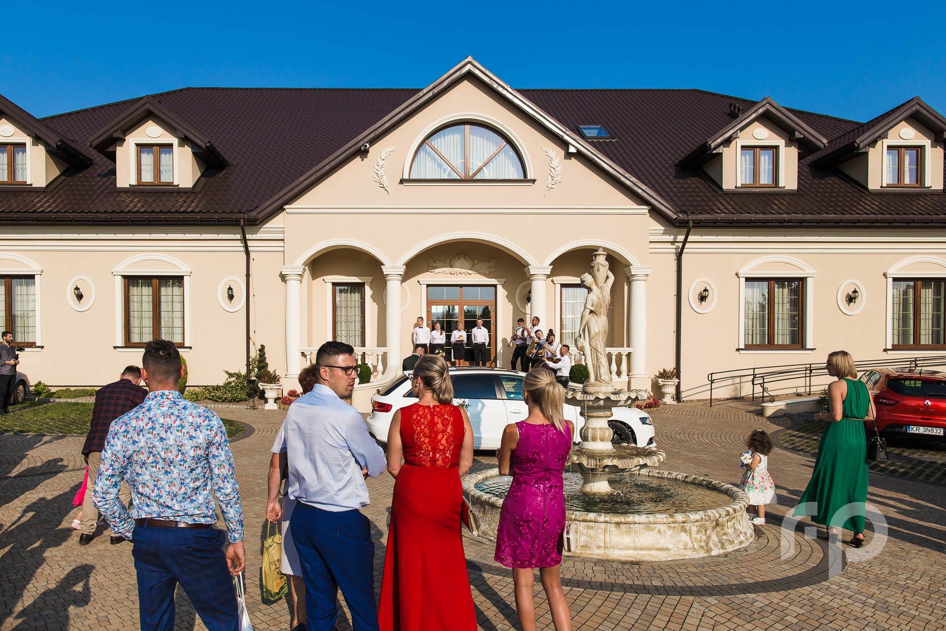 zabawa weselna dom weselny Janowice