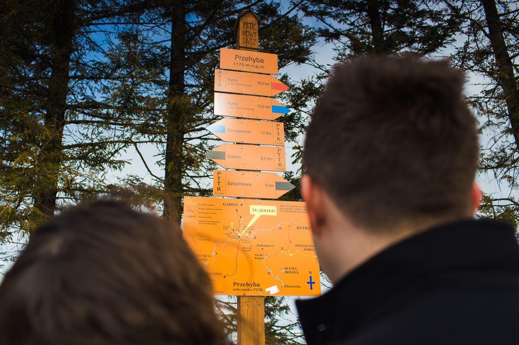 szczyt górski w zachodniej części Pasma Radziejowej w Beskidzie Sądeckim