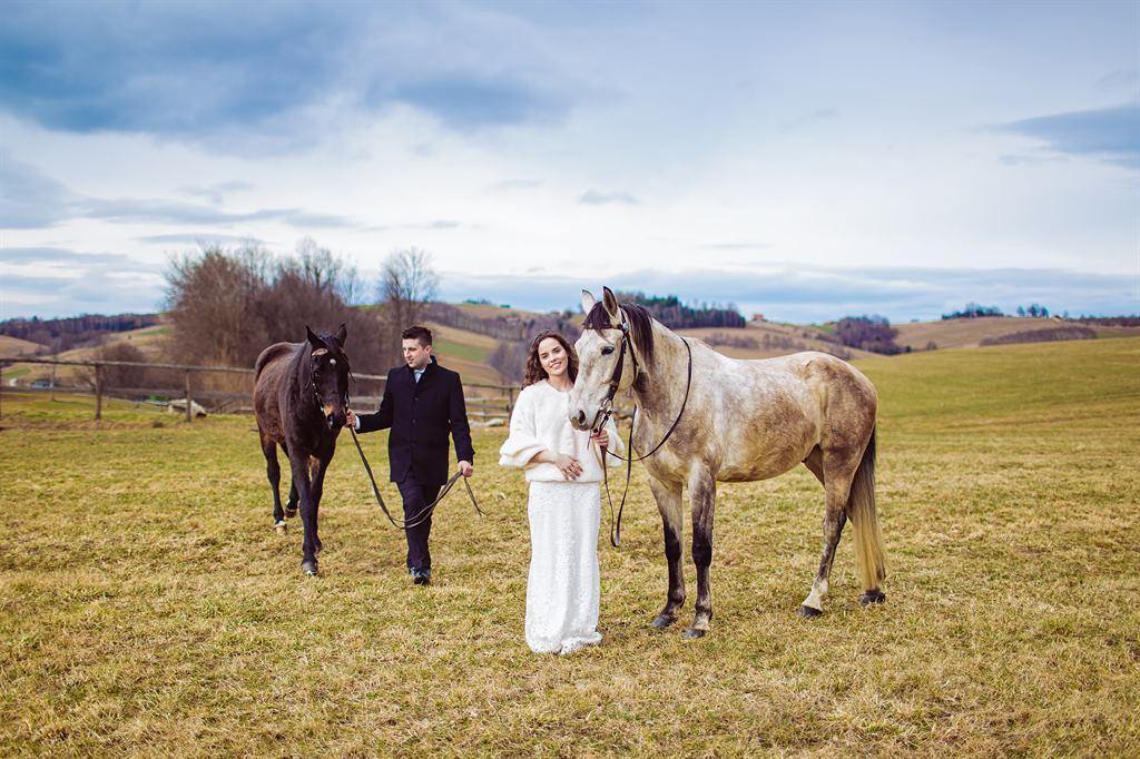 ujęcia do filmu ślubnego Nowy Sącz