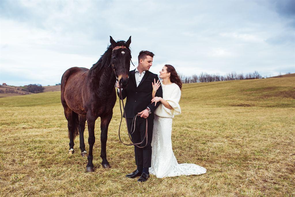plener ślubny w Agro-Ranczo, Przysietnica, Nowy Sącz