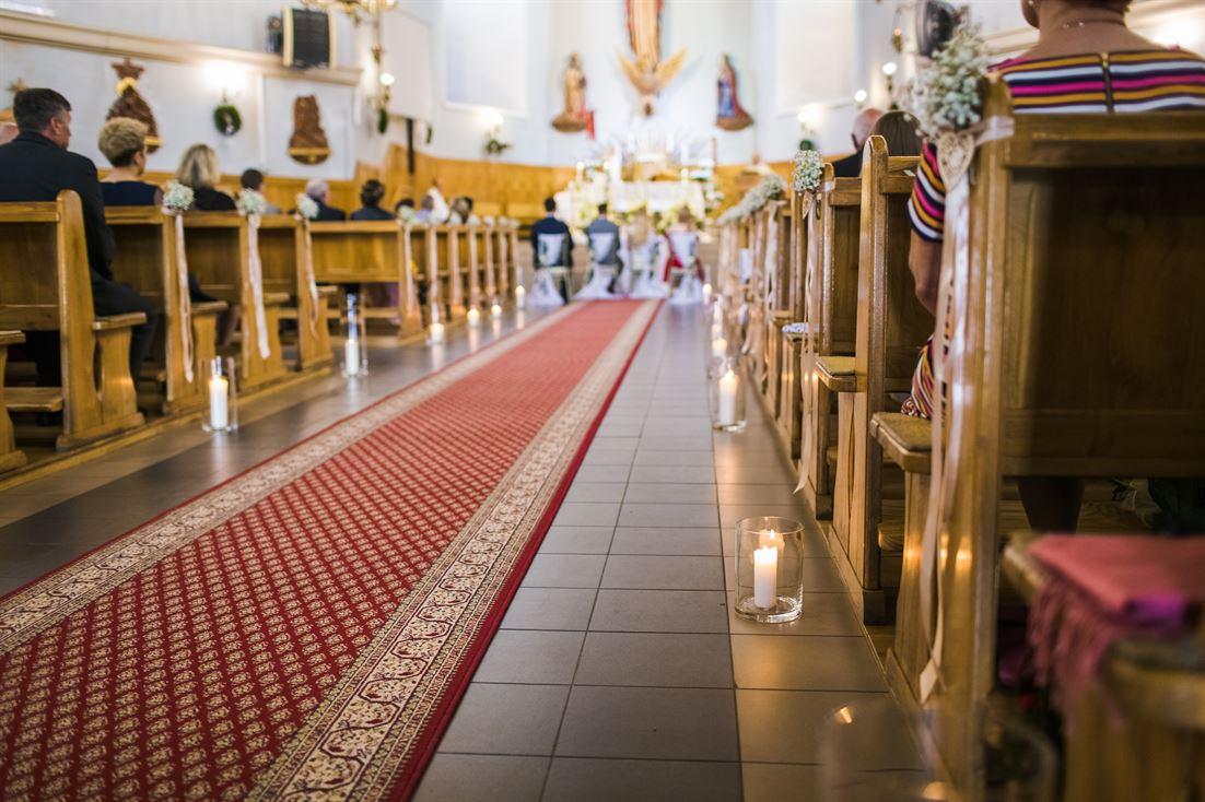 dekoracja kościoła na ślub Starachowice