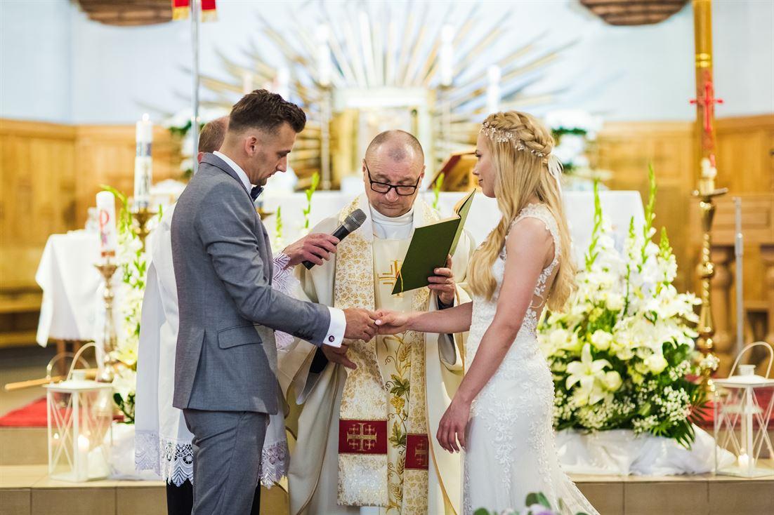 najbardziej wyczekiwana i stresująca chwila podczas ślubu kościelnego