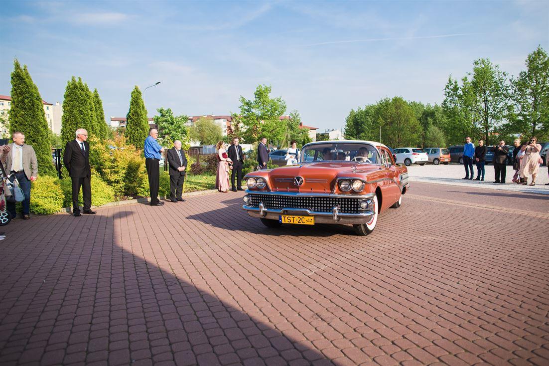 wyjątkowe auto do ślubu