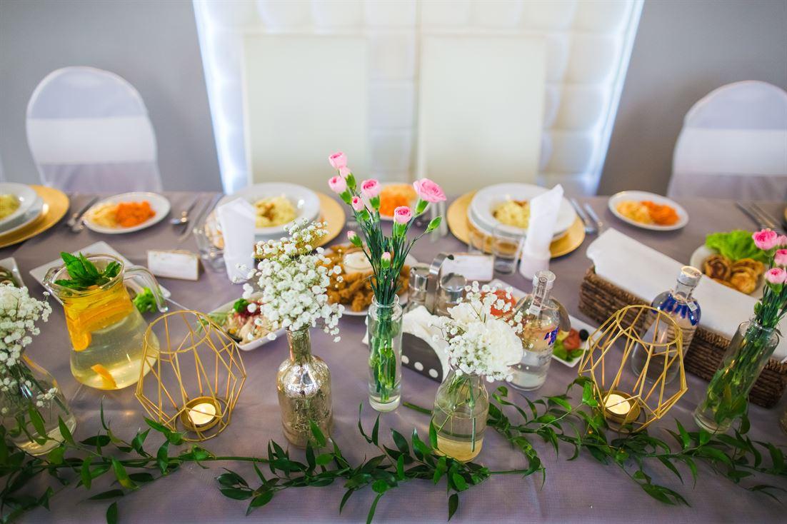 wyjątkowe dekoracje sali weselnej