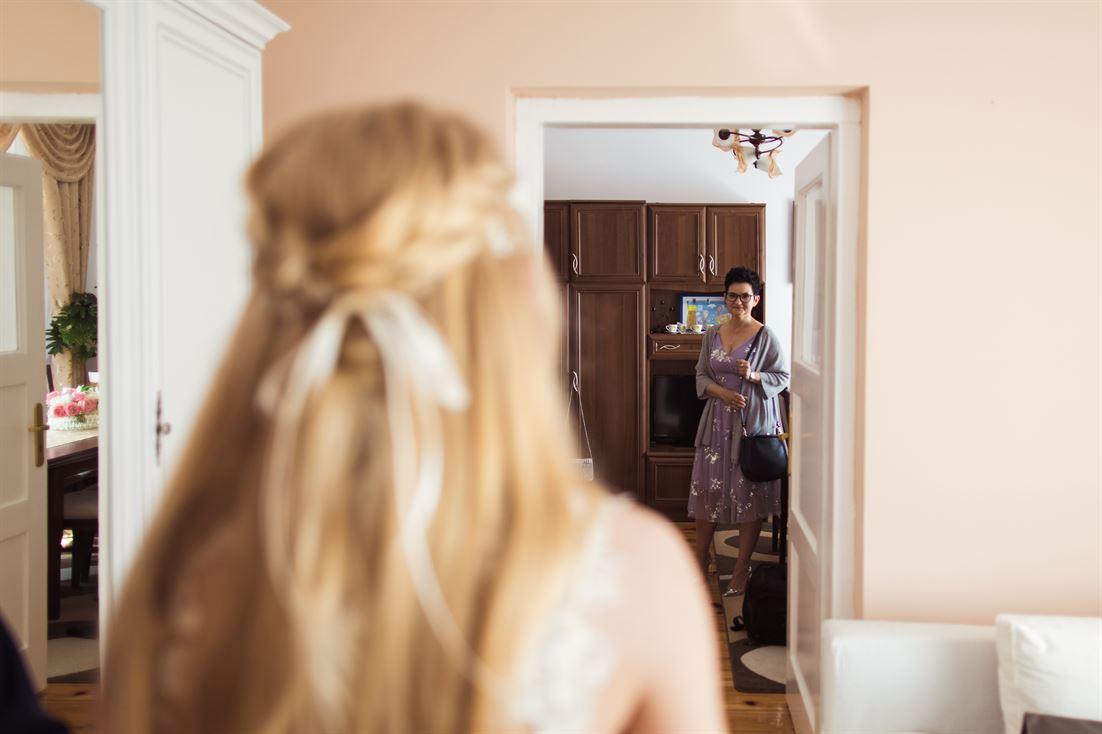 powitanie gości weselnych