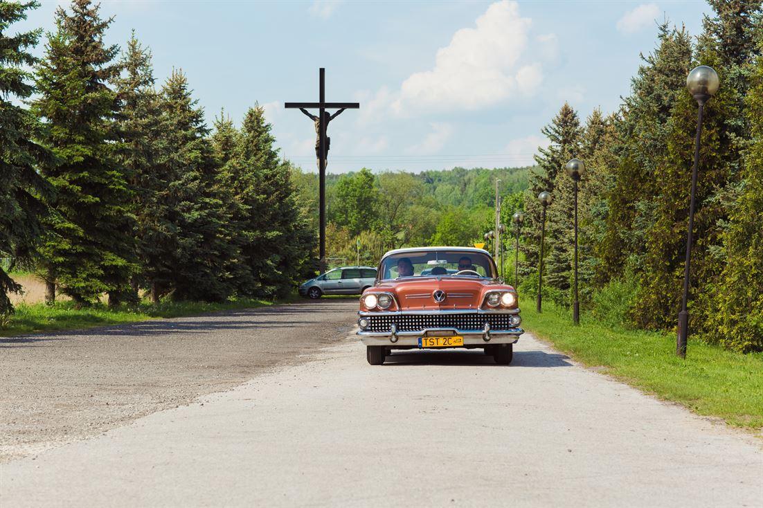 Buick Special 1958 - zabytkowy samochód do ślubu