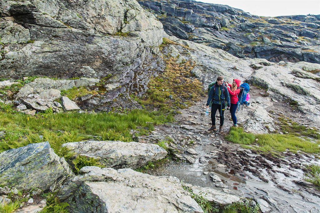 trudy zagranicznego pleneru w Norwegii