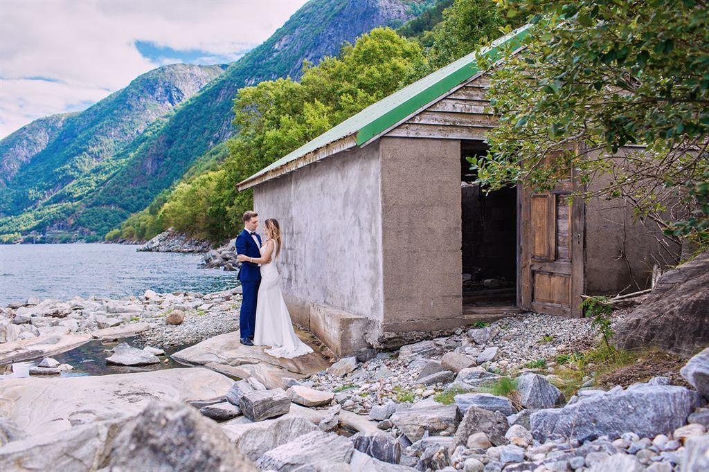 teledysk ślubny w Norwegii