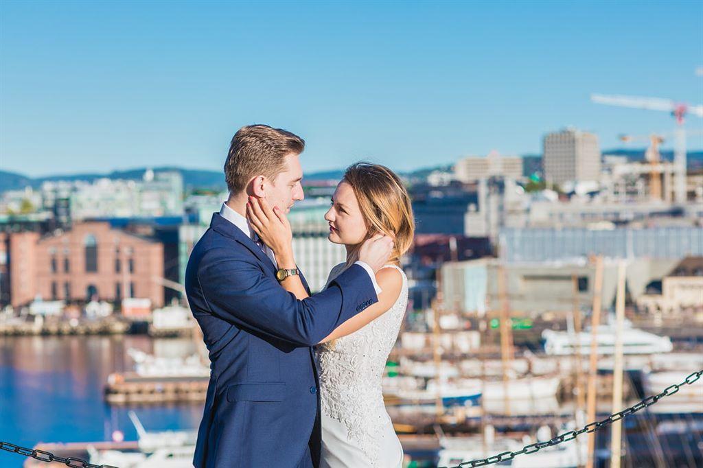 plener ślubny w Oslo