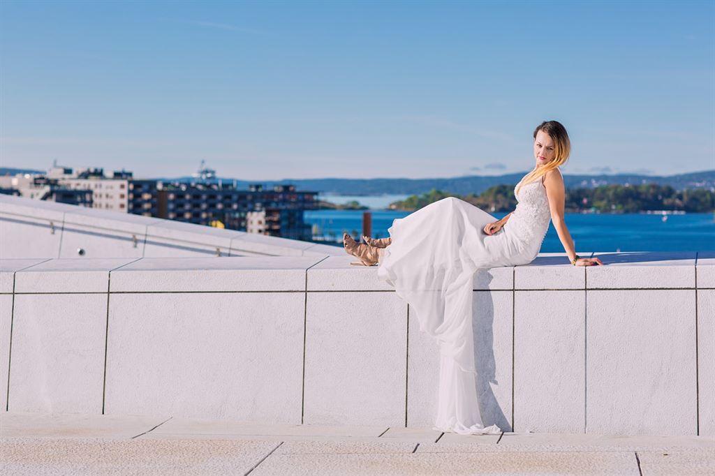 teledysk ślubny w Oslo